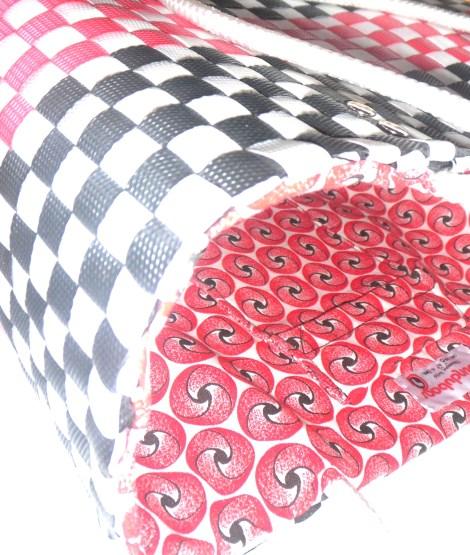 red shwe shwe lining