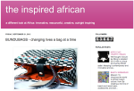 the inspired african